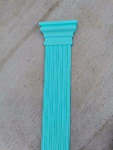 pilastru decorativ pentru infrumusetarea cladirilor